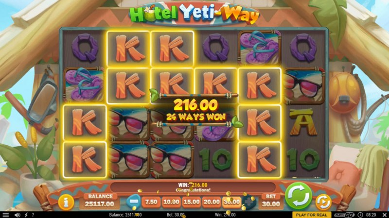 Hotel Yeti Way :: Multiple winning combinations