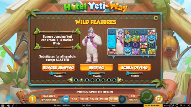Hotel Yeti Way :: Wild Features