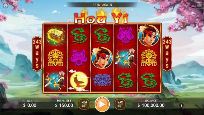 Hou Yi :: Main Game Board