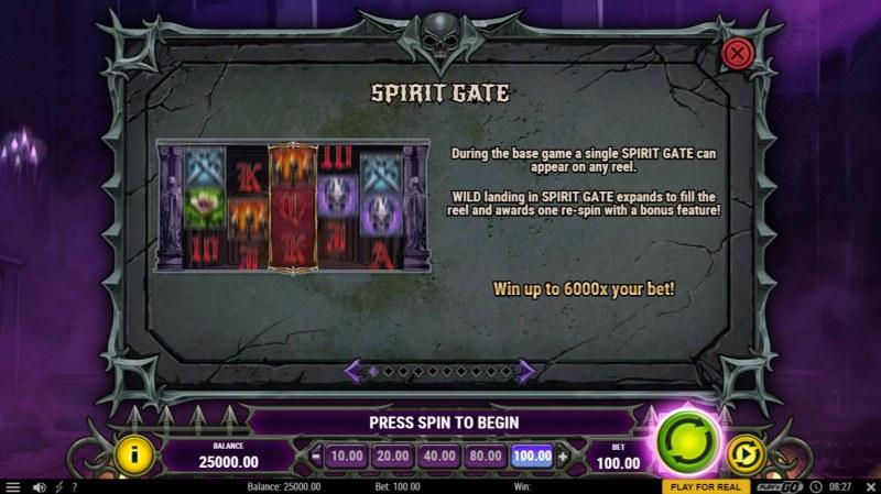 House of Doom 2 The Crypt :: Spirit Gate
