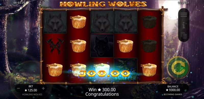 Howling Wolves :: A five of a kind win