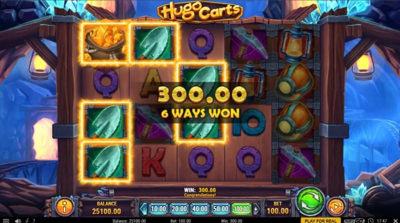 Hugo Carts :: 6 Way Win