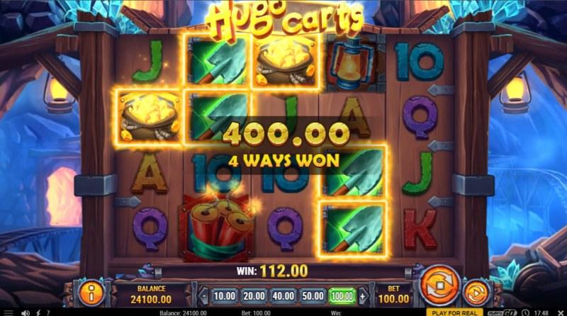 Hugo Carts :: 4 Way Win