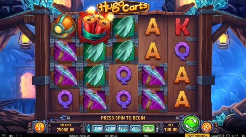 Hugo Carts :: Base Game Screen