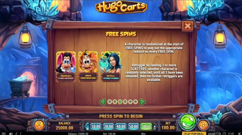Hugo Carts :: Feature Rules
