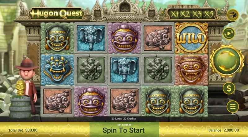 Hugon Quest :: Main Game Board
