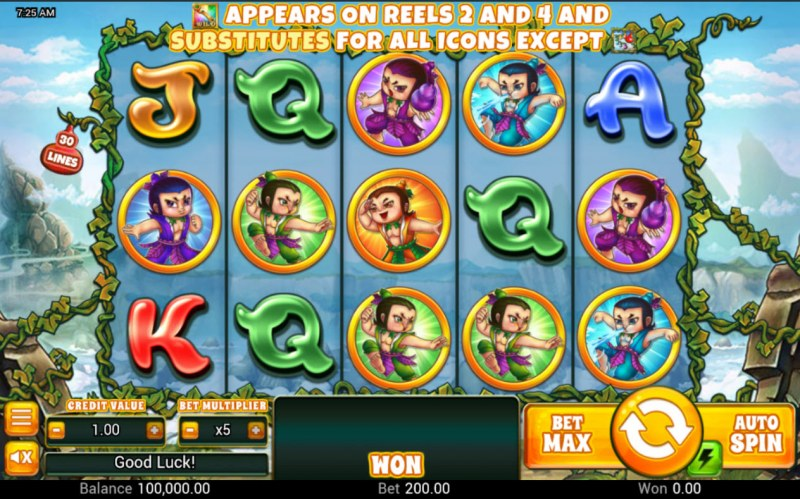 Huluwa :: Base Game Screen