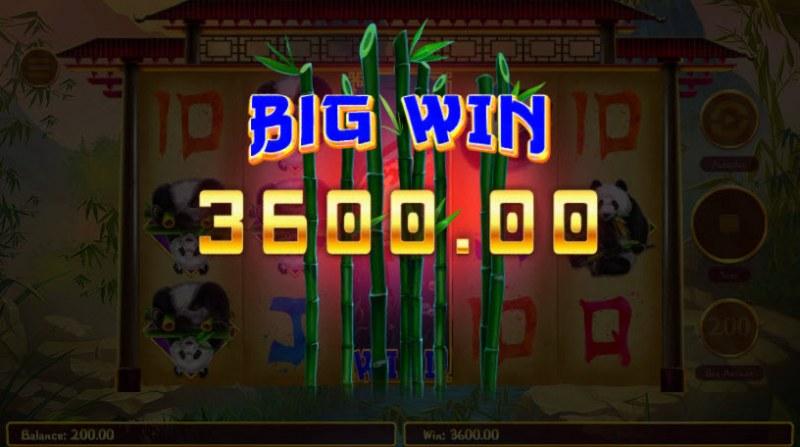 Hungry Pandas :: Big Win
