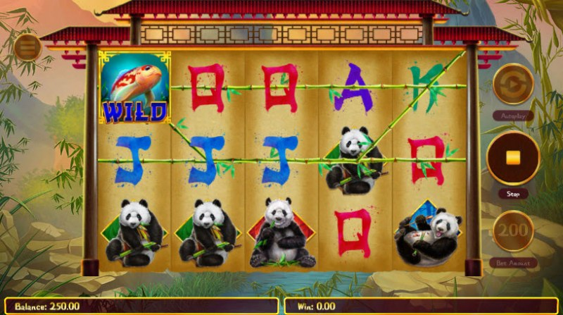 Hungry Pandas :: Three of a kind