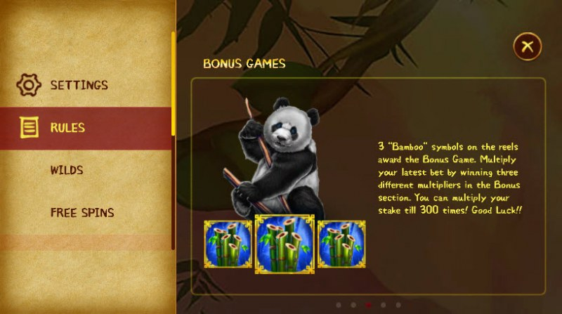 Hungry Pandas :: Bonus Game Rules