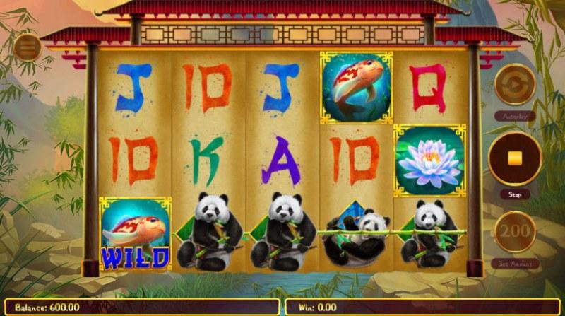 Hungry Pandas :: A winning 3 of a kind