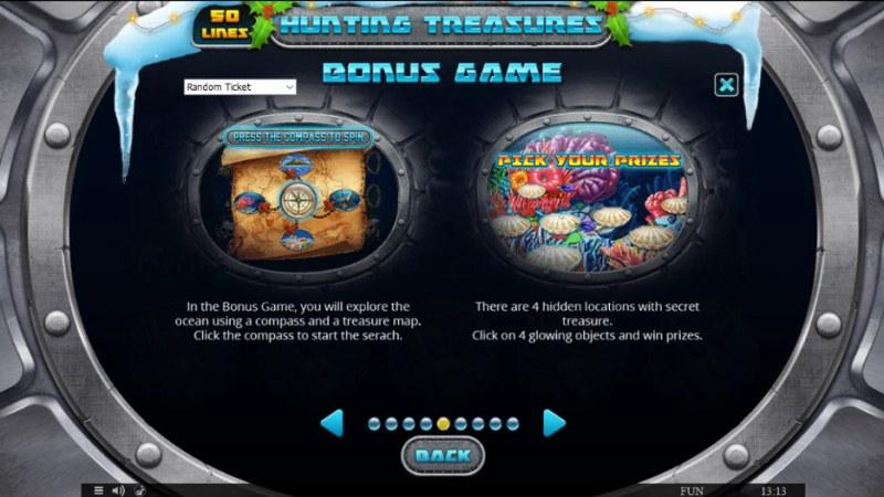 Hunting Treasures Christmas Edition :: Bonus Game Rules