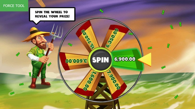 Hurricash :: Spin the wheel to win a bonus prize