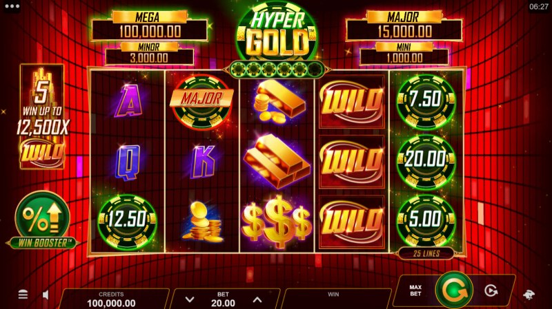 Hyper Gold Link & Win :: Main Game Board