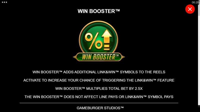 Hyper Gold Link & Win :: Win Booster