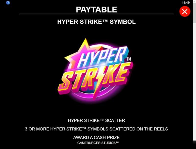 Hyper Strike :: Feature Rules