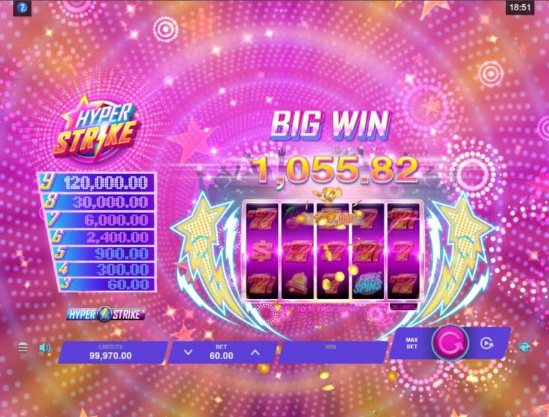 Hyper Strike :: Big Win