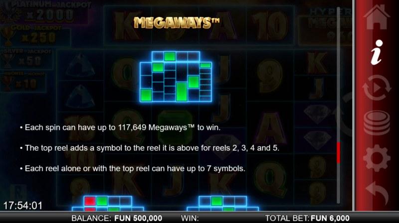Hypernova Megaways :: Megaways