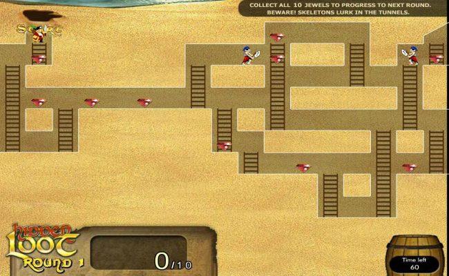Hidden Loot :: Bonus Game Board