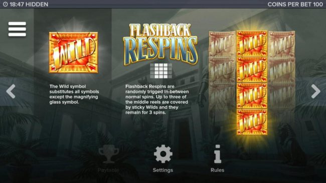 Hidden :: Flashback Respins Rules