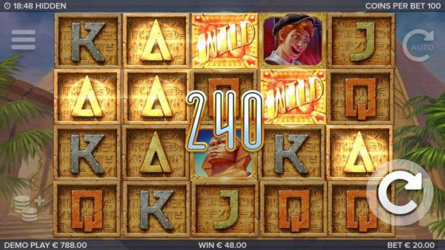 Hidden :: A 240 coin payout