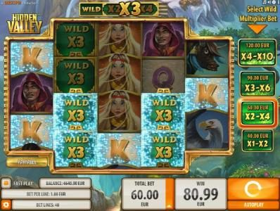 Zet Casino featuring the Video Slots Hidden Valley with a maximum payout of $9,000