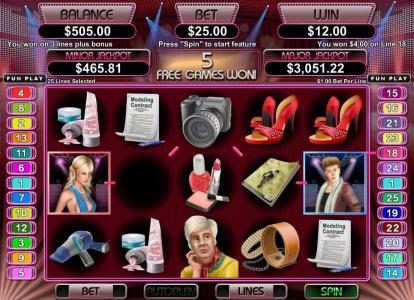 La Riviera featuring the Video Slots High Fashion with a maximum payout of $250,000