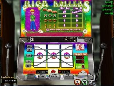 Play slots at Slots Plus: Slots Plus featuring the Video Slots High Rollers with a maximum payout of Jackpot