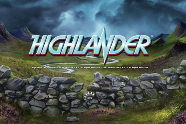Play slots at Scatters: Scatters featuring the Video Slots Highlander with a maximum payout of $102,500