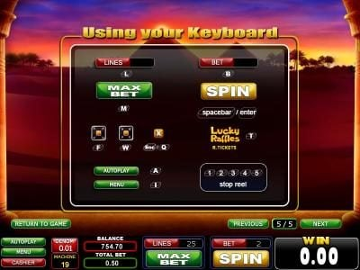 Casinoval featuring the Video Slots Highlands with a maximum payout of $2,000