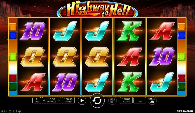 Highway to Hell :: Main Game Board