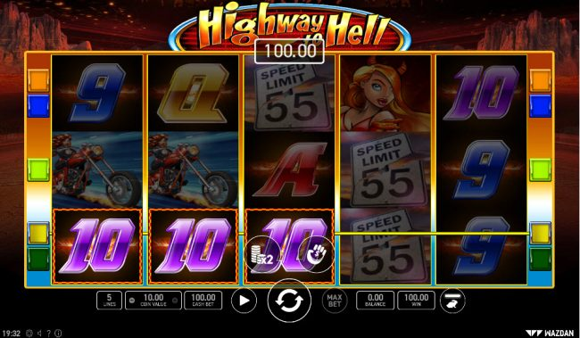 Highway to Hell :: A winning three of a kind