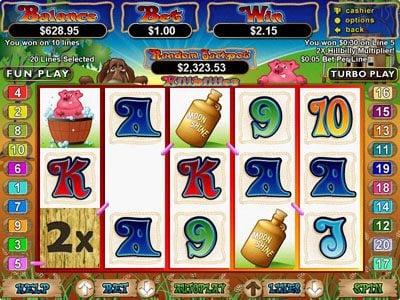 Play slots at iNET Bet: iNET Bet featuring the Video Slots Hillbillies with a maximum payout of $250,000