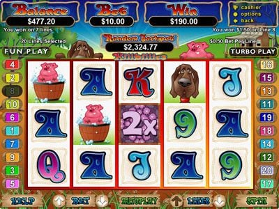 Play slots at Planet7 Oz: Planet7 Oz featuring the Video Slots Hillbillies with a maximum payout of $250,000