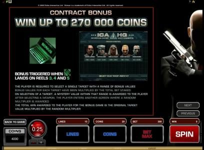 Spinland featuring the Video Slots Hitman with a maximum payout of $20,000