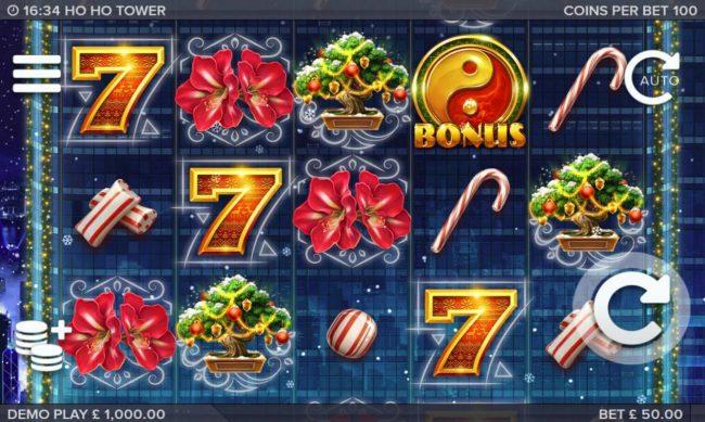 Ho Ho Tower :: Main Game Board