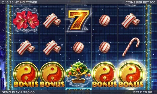 Fruity Casa featuring the Video Slots Ho Ho Tower with a maximum payout of $153,000
