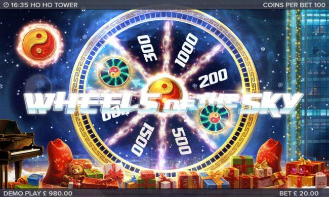 Ho Ho Tower :: Bonus Wheel Game