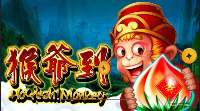 Splash screen - game loading - Chinese Monkey Theme
