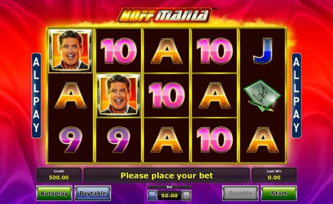 Play slots at Sky Vegas: Sky Vegas featuring the Video Slots Hoffmania with a maximum payout of $50,000
