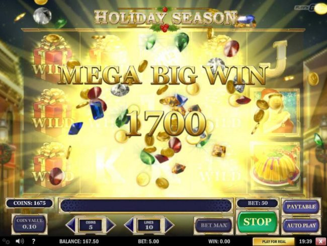 Mega Big Win 1700