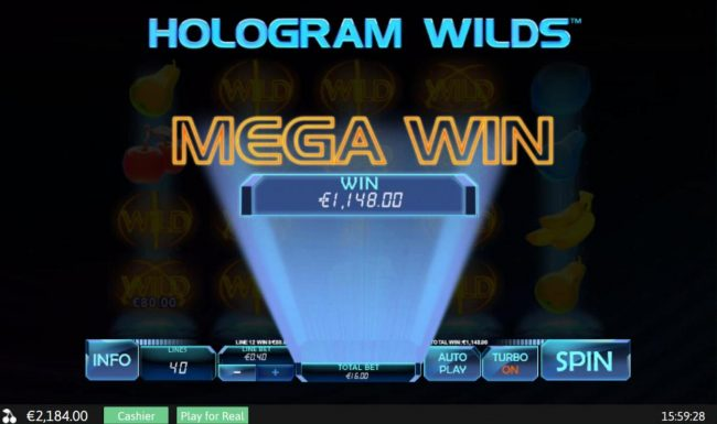 Hologram Wilds :: Mega Win