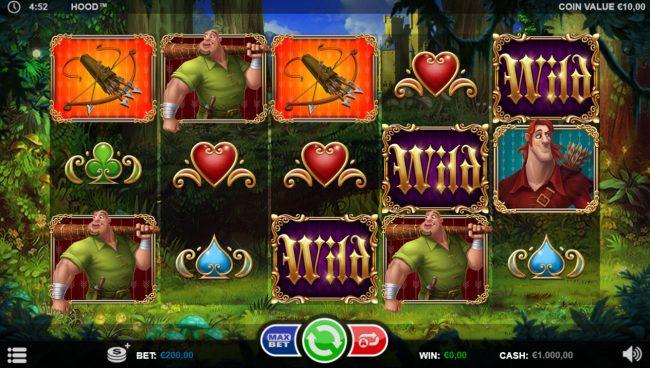 Hood :: Main Game Board