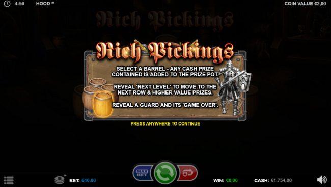 Hood :: Rich Pickings