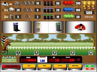 Long Harbour featuring the Video Slots Horse Race with a maximum payout of $5,000