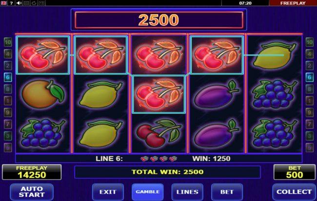Hot Choice :: Multiple winning paylines