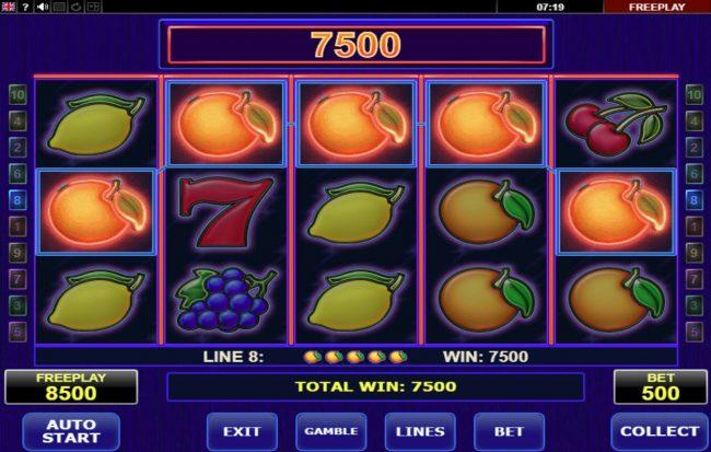 Hot Choice :: A winning five of a kind
