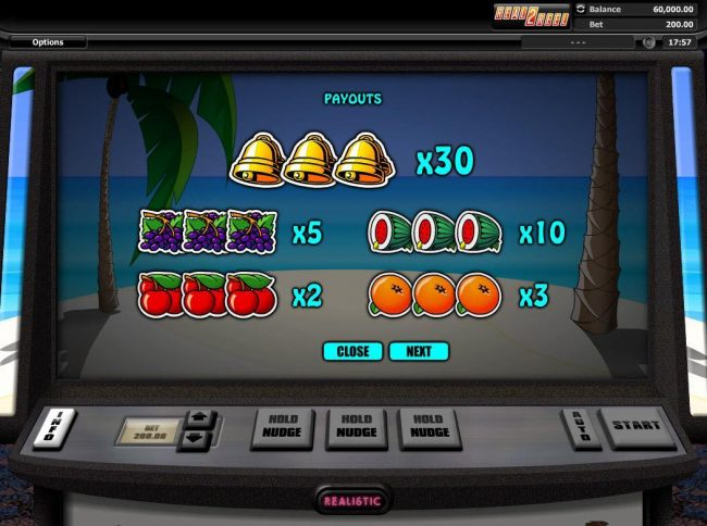 BGO Vegas featuring the Video Slots Hot Cross Bunnies with a maximum payout of $60,000