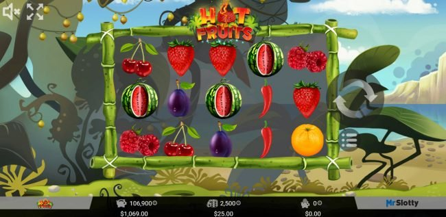 Play slots at Win Monaco: Win Monaco featuring the Video Slots Hot Fruits with a maximum payout of $50,000