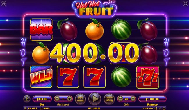 Play slots at Win Paradise: Win Paradise featuring the Video Slots Hot Hot Fruit with a maximum payout of $5,000,000